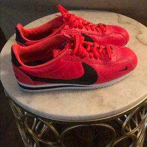 Nike Atomic Red Shoes